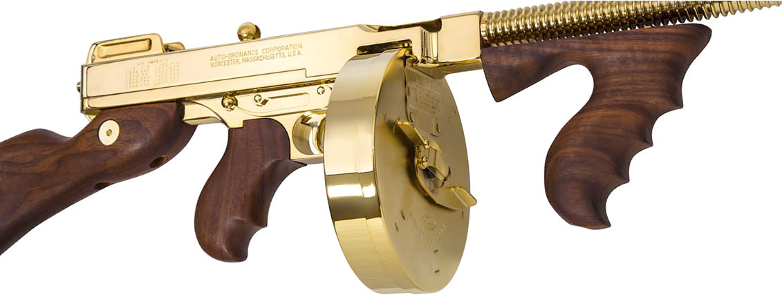 Thompson Titanium Gold & Hard Chrome