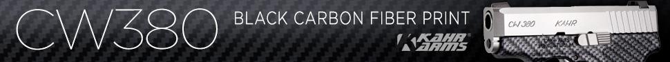 CW380 Black Carbon Fiber Print