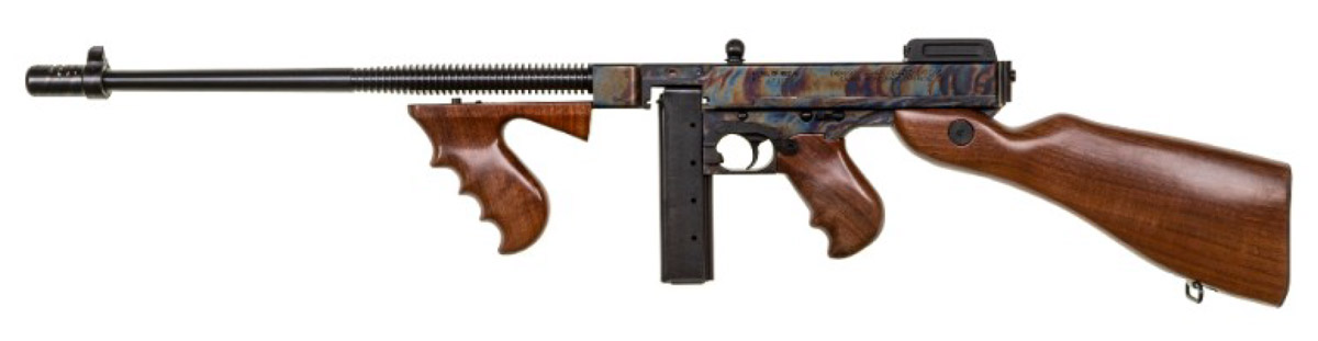 """061377f52f4d The """"Case Hardened"""" Thompson (T1CH) is now shipping and has an MSRP of   1"""